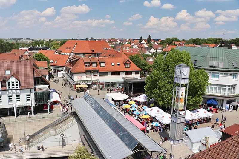 der Löwen-Markt in Weilimdorf